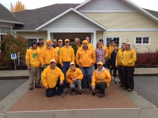 The Grounds Guys of the Okanagan weCARE Day